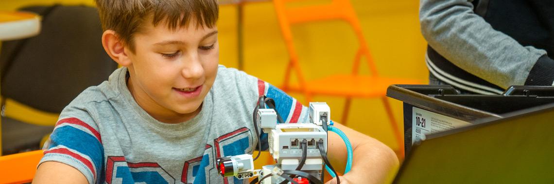 Ученик и его робот